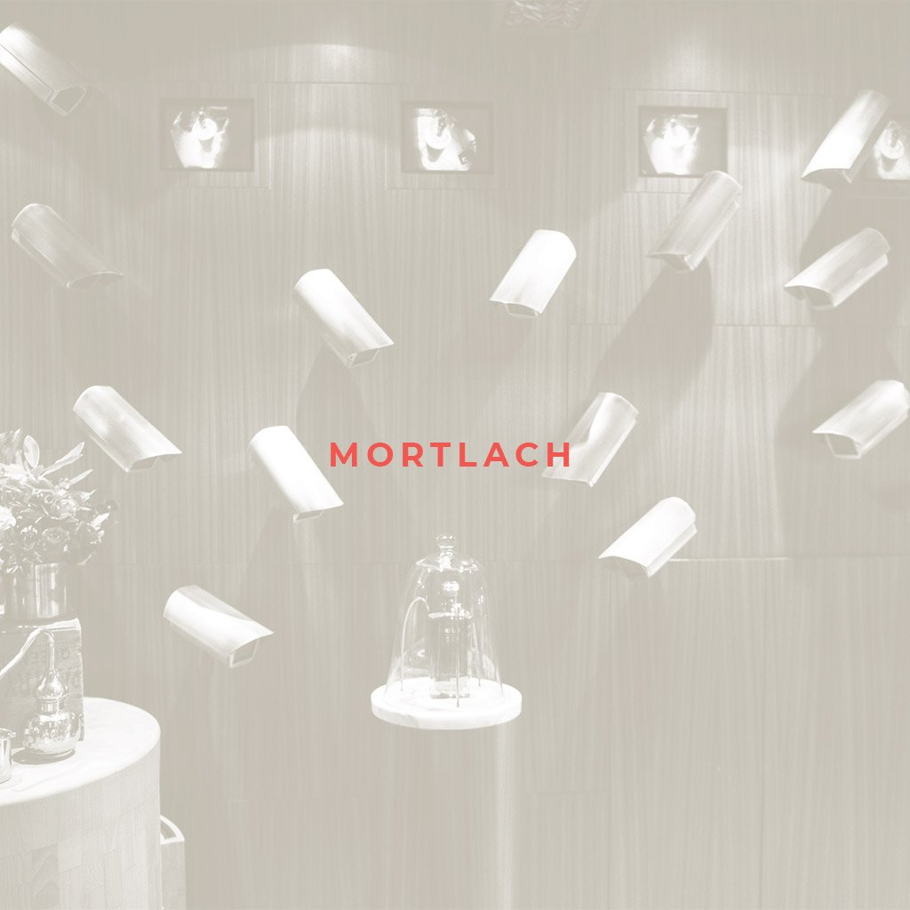 Mortlach product launch, bottle display with CCTV cameras